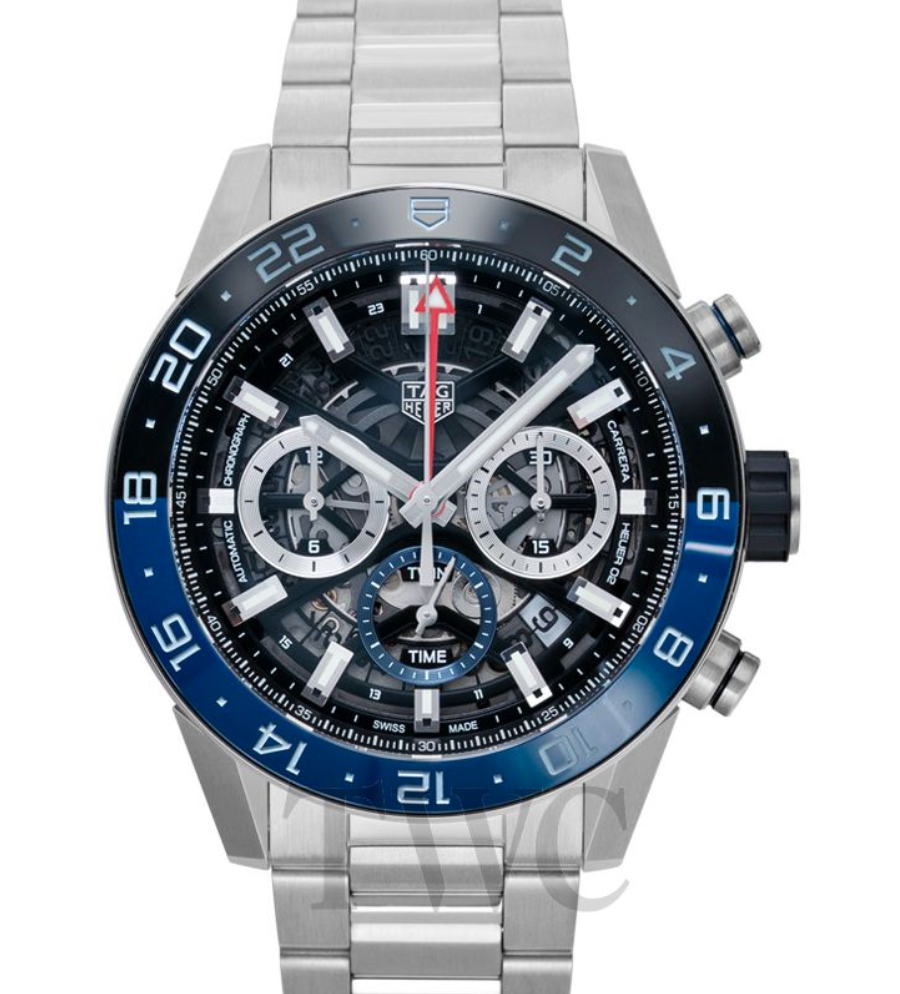 Tag Heuer Carrera Calibre Heuer 02 GMT Automatic