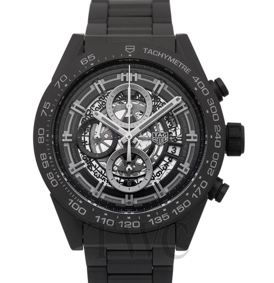 Tag Heuer Carrera Chronograph Skeleton Dial