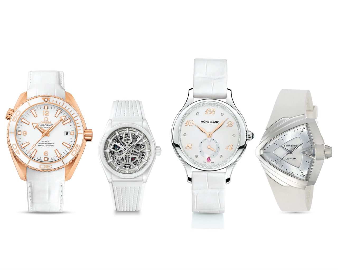 Top 14 Hottest White Watches for Men and Women