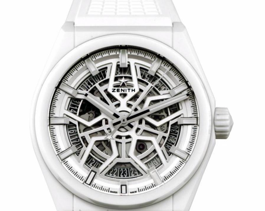 Zenith Defy Classic Skeleton, White Watch, Skeleton Watch, Swiss Watch