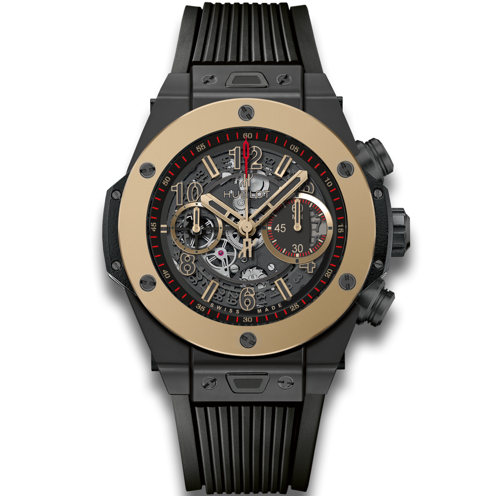 Hublot Big Bang Unico Magic Skeleton, Skeleton Watch, Swiss Watch, Black Watch, Modern Watch