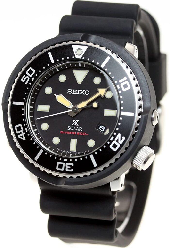 Seiko Prospex SBDN043, Seiko Dive Watch, Japanese Watch, Solar Watch, Date Display