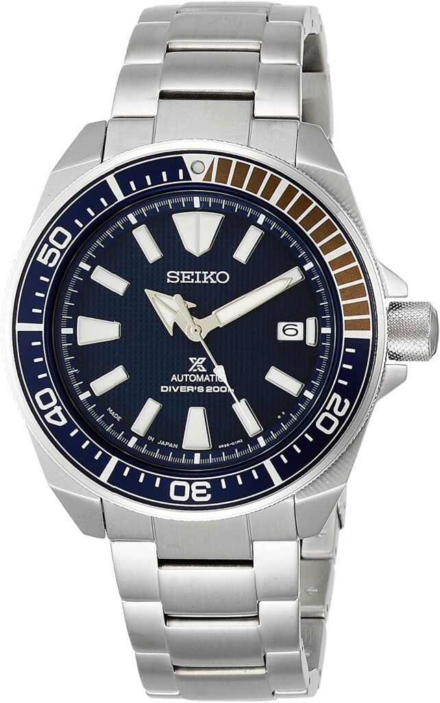 Seiko Prospex SBDY007, Seiko Dive Watch, Steel Watch, Automatic Watch, Date Display