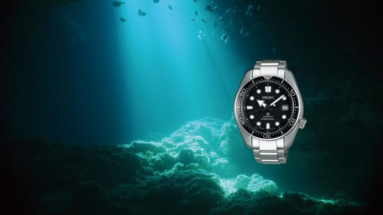 Seiko Dive Watch, Steel Watch, Water-resistant Watch, Underwater, Japanese Watch