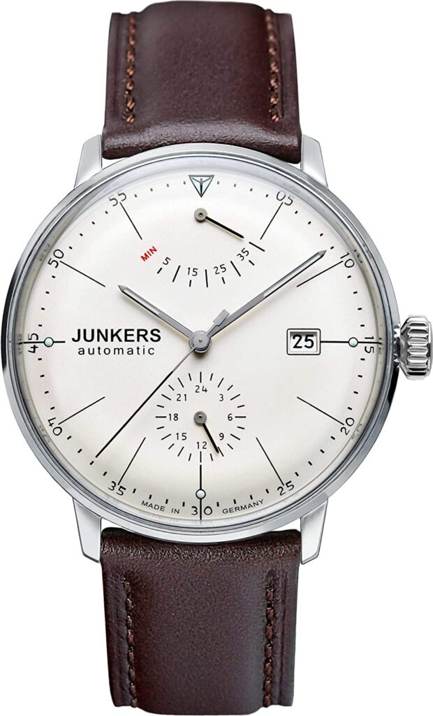 Junkers 6050-5, German Watches, Automatic Watch, Watch Display, Power Reserve Indicator
