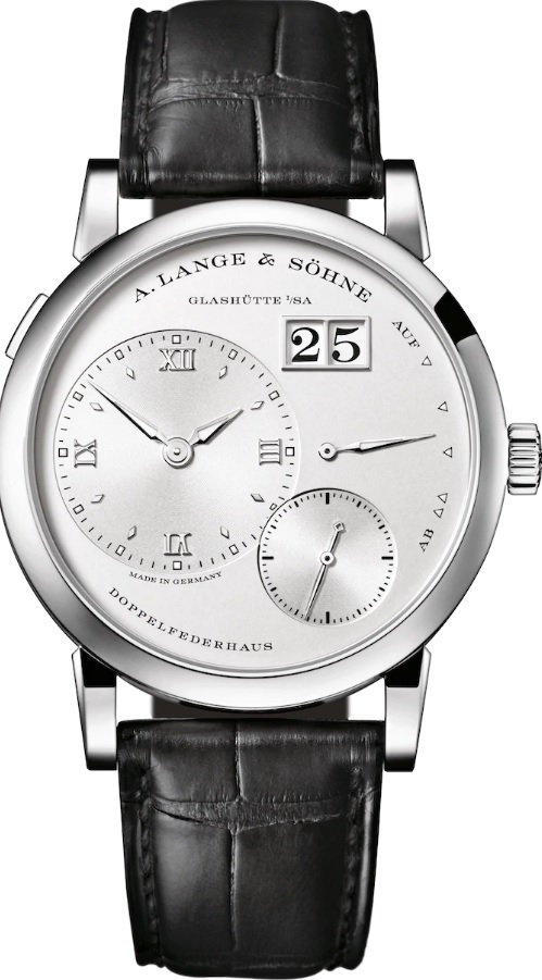 A. Lange & Söhne Lange 1, German Watches, Leather Watch, Date Display, Steel Watch Dial