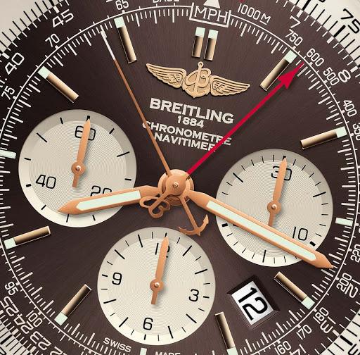 Breitling Seconds Hand