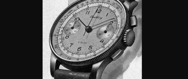 Chronomat ref. 769 (1941), Breitling Chronomat Watches