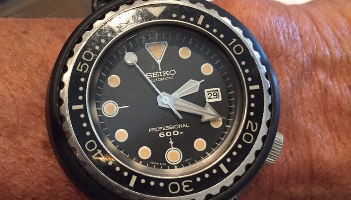 Seiko Tuna 6159-7010 or the Grandfather Tuna, Seiko Tuna Watches