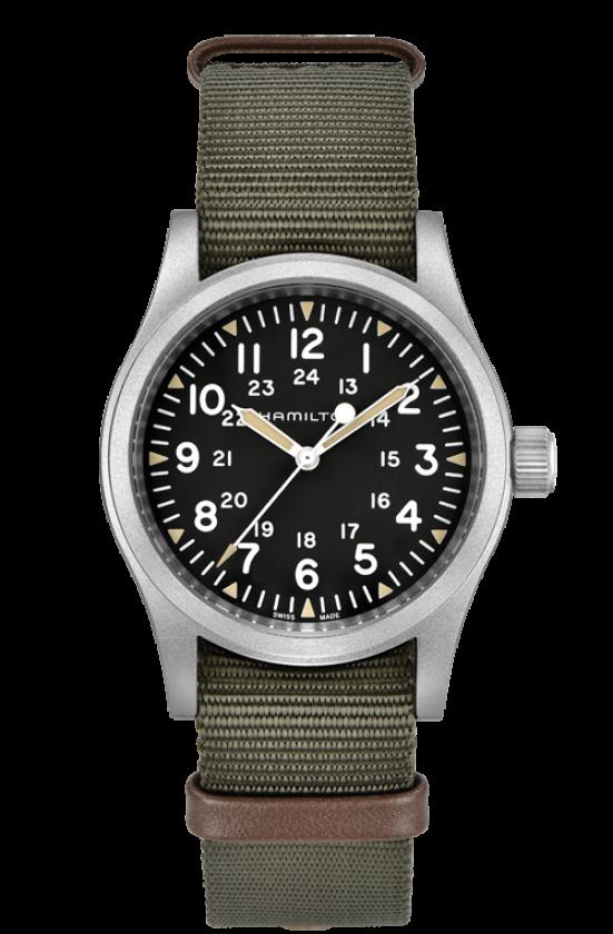 Hamilton Khaki Field Mechanical, Military Watches