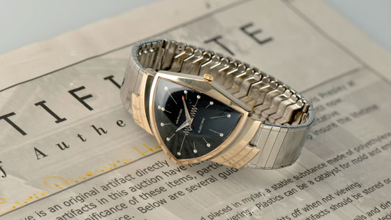 Hamilton Ventura: The World's First Electric Watch