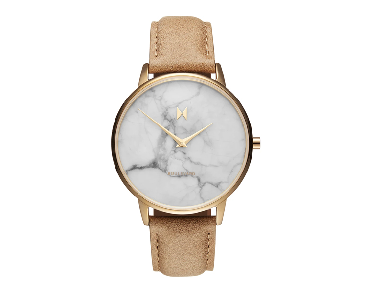 MVMT Boulevard in Laurel Marble, MVMT Watch