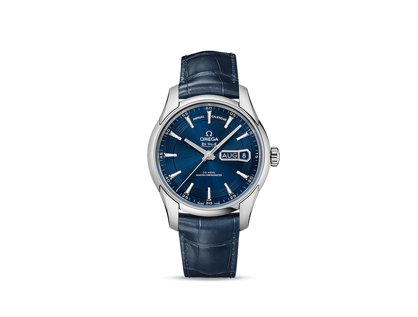OMEGA De Ville HOUR VISION OMEGA CO‑AXIAL MASTER CHRONOMETER ANNUAL CALENDAR 41 MM