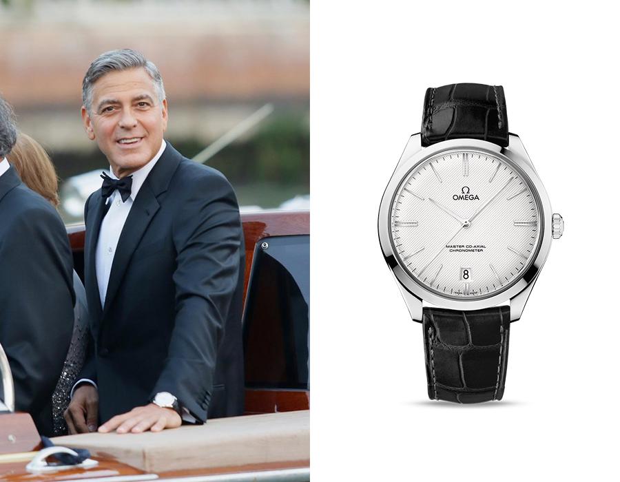 Omega De Ville Tresor George Clooney
