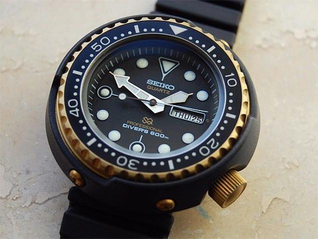 Seiko Golden Tuna, Seiko Dive Watch