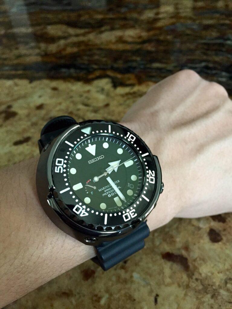 Seiko SBDB009 Spring Drive Tuna, Seiko Tuna Watch