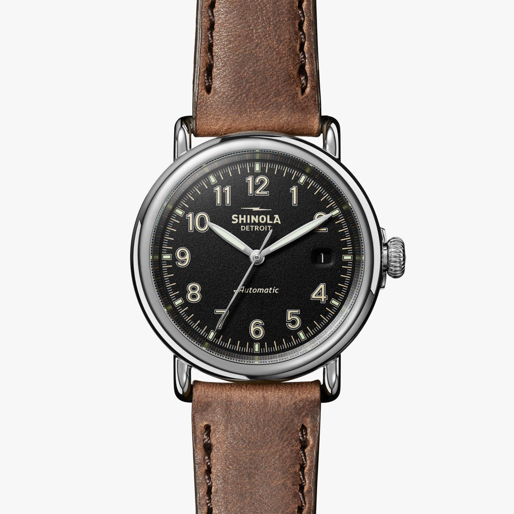 Shinola Runwell Automatic, Military Watches