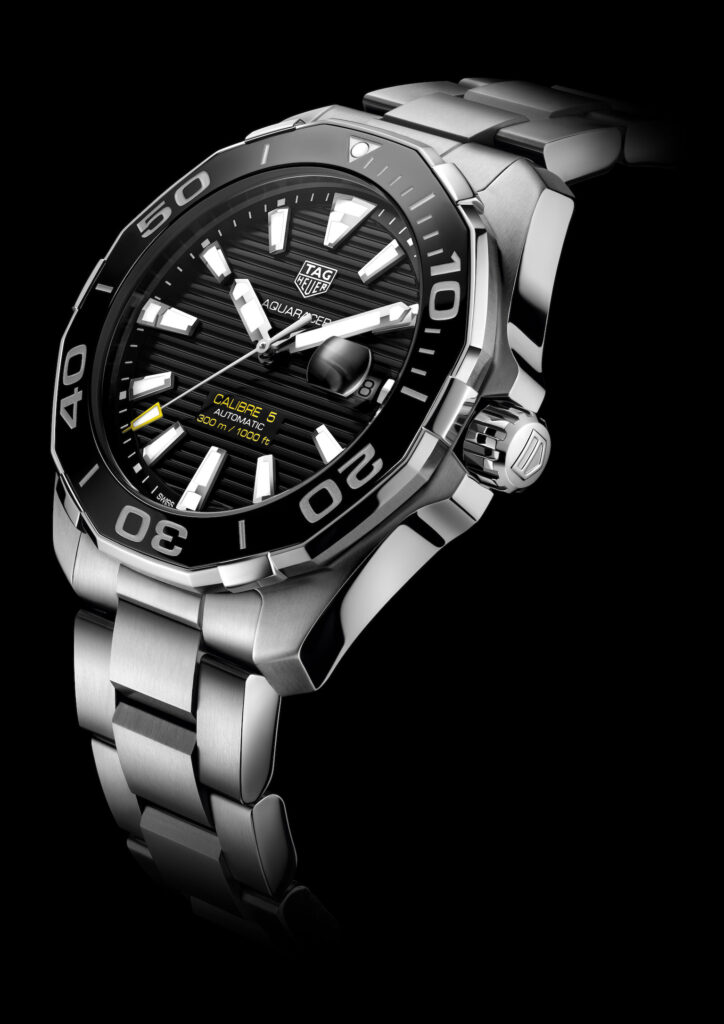 Aquaracer 300m Calibre 5 Ceramic Bezel