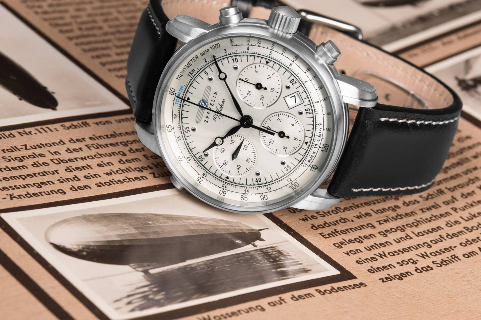 Zeppelin Watches: A German Brand Inspired By Vintage Airships
