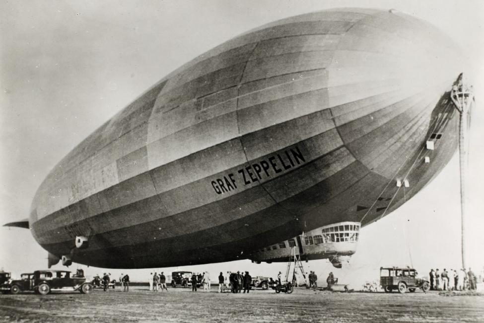 Zeppelin watches inspiration