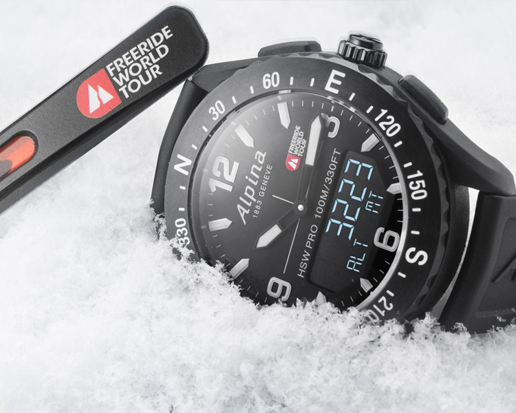 Alpina Freeride World Tour, Alpina Watches