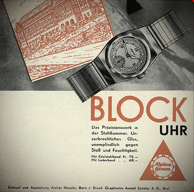 Alpina Watches Block Uhr