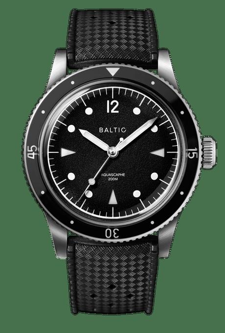 Baltic Aquascaphe Black Silver