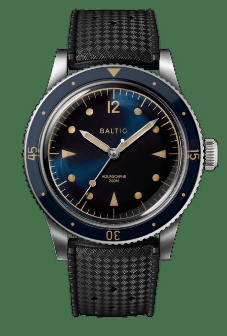 Baltic Aquascaphe Blue Gilt