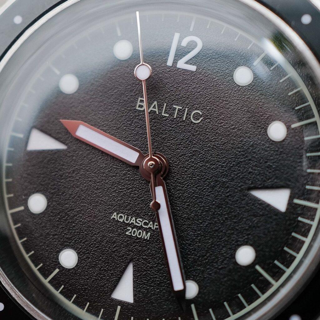 Baltic Aquascaphe dial