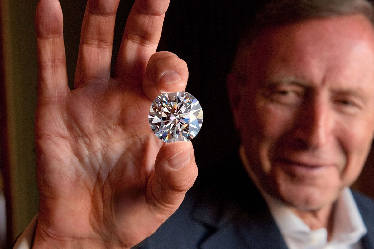 Mr. Laurence Graff, Founder of Graff Diamonds