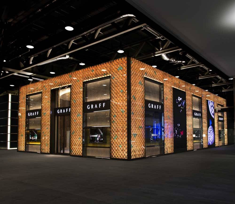 Graff Booth at Baselworld 2014