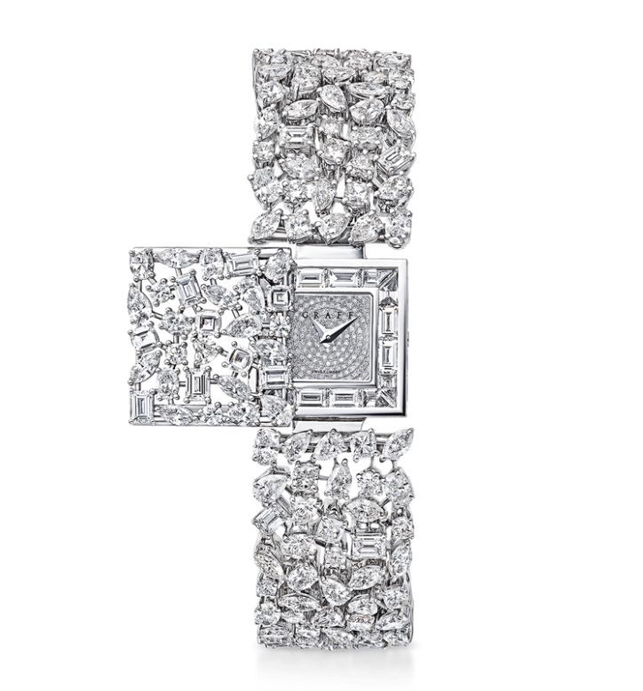 Graff Multi-shape Diamond Secret Watch