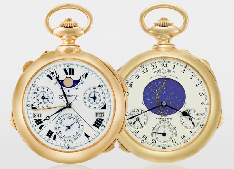Patek Philippe Henry Graves Supercomplication, Pocket Watches