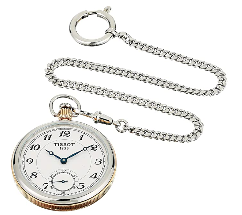 Tissot Bridgeport Lepine Mechanical Pocket Watch