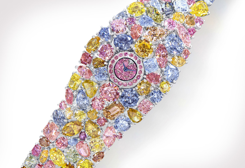 The $55M Graff Diamonds Hallucination: The World's Most Expensive Watch