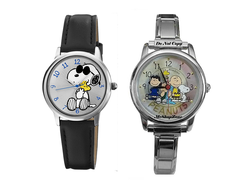 Armitron Peanuts Collection, Snoopy Watches