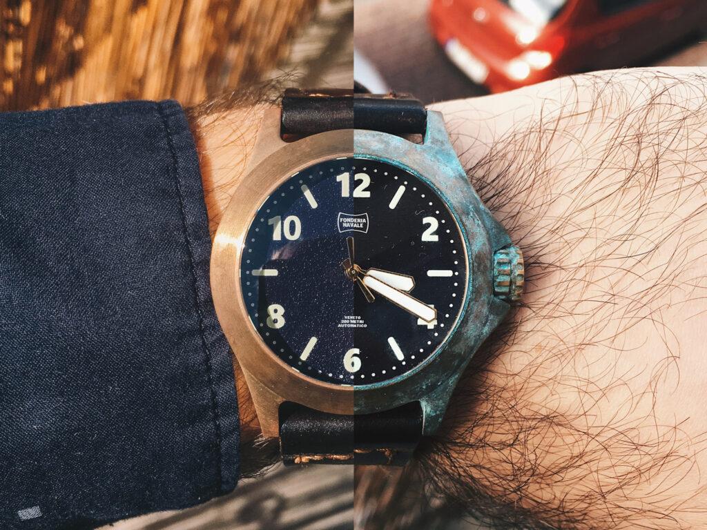 Bronze Watch's Patina