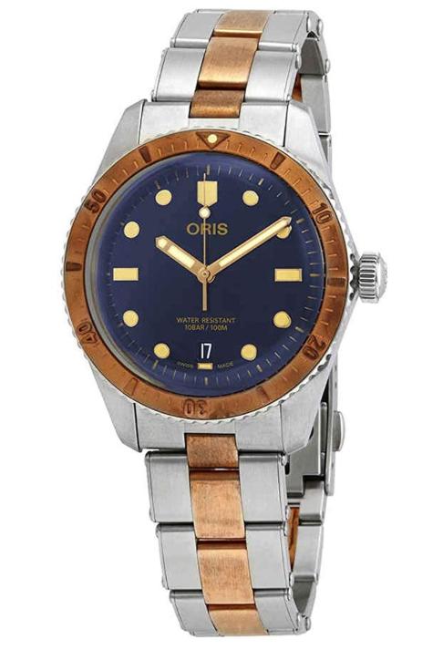 Bronze watches Oris Divers Sixty Five Steel and Bronze