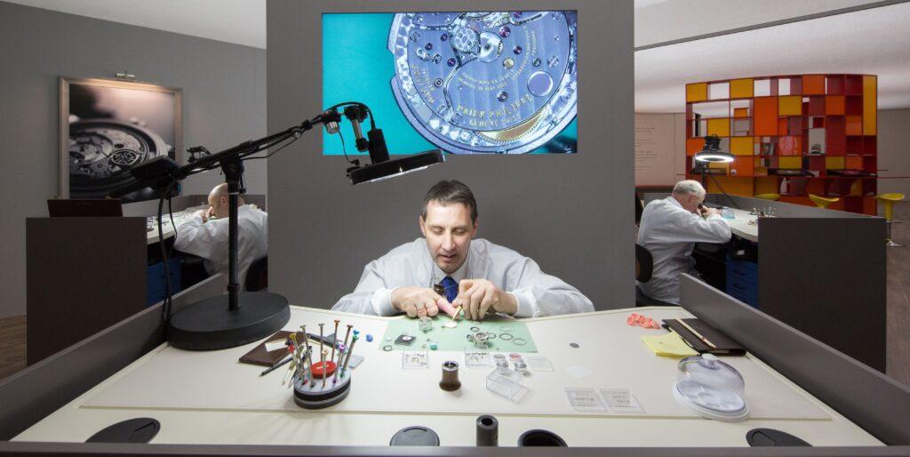 Patek watchmaker