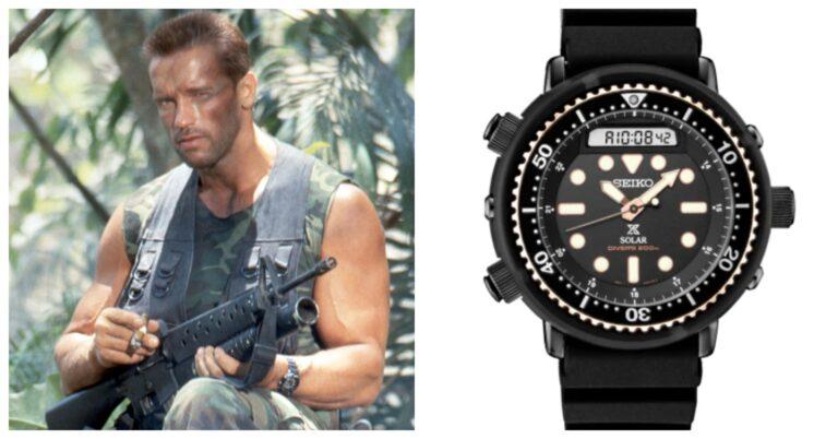Seiko Arnold Schwarzenegger