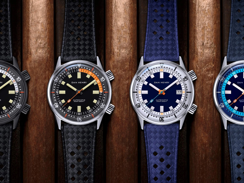 Dan Henry Watches 1970 Automatic Diver