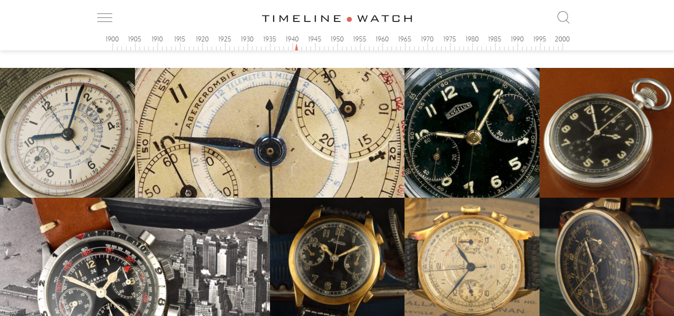 Timeline Watch Dan Henry Vintage Watches Collector