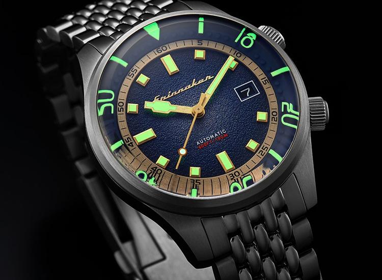 SPINNAKER Men's Bradner 42mm Steel Bracelet & Case Automatic Watch SP-5062-11