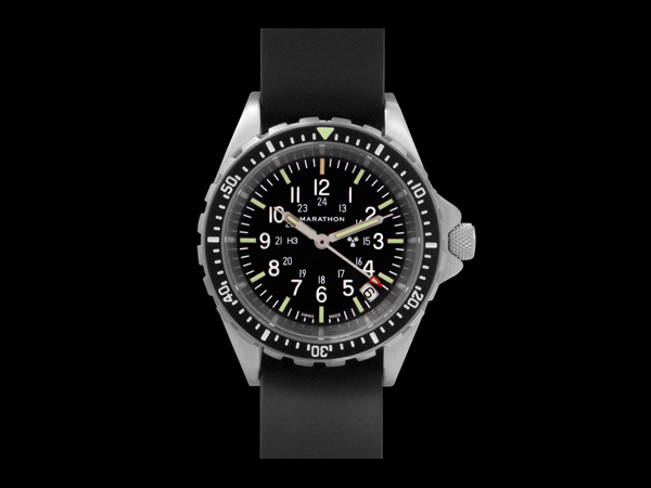 Marathon Medium Diver's Quartz (MSAR Quartz) Tritium Watch
