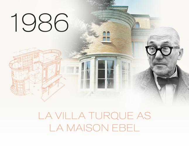 Ebel Watches La Maison Ebel La Villa Turque