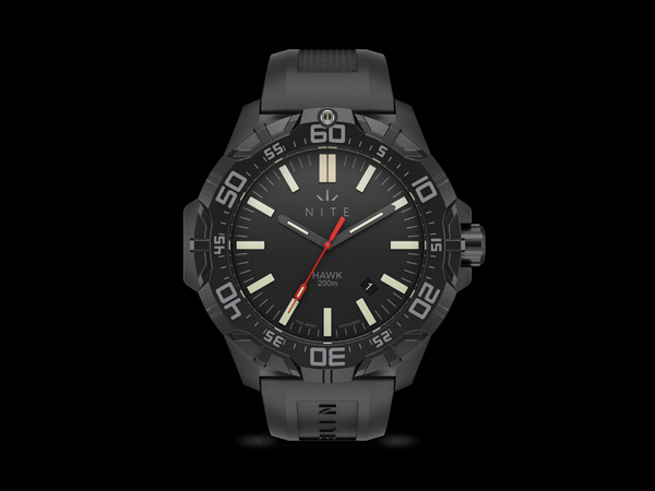 Nite Hawk Tritium Watch