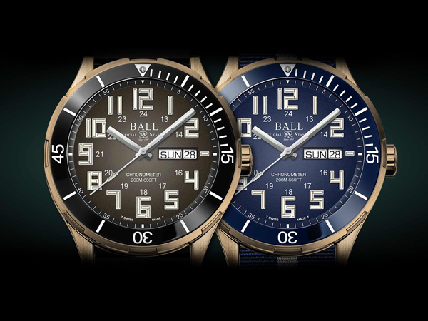 Ball Roadmaster StarLight Bronze Tritium Watches