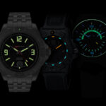 The 10 Best Perpetually Glowing Tritium Watches Luminox Navy Seal 3501 Traser P59 Aurora GMT H3 Isobrite Executive Series ISO701