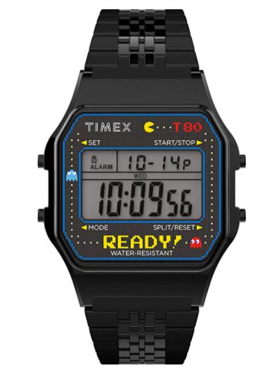 Timex T-80 x PAC-MAN 40th Anniversary
