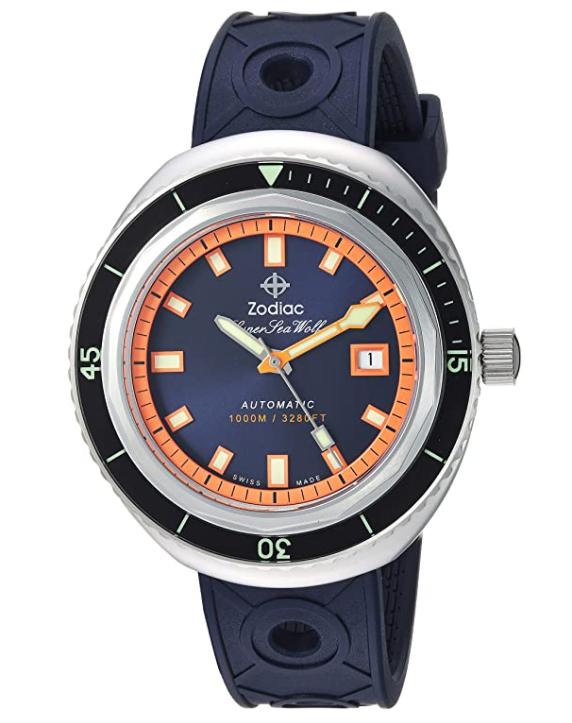 Zodiac Super Sea Wolf 68, retro watches